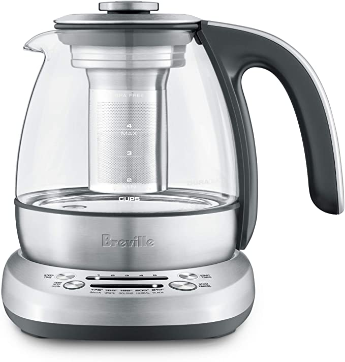 Breville Stainless Steel Tea Kettle With Infuser
