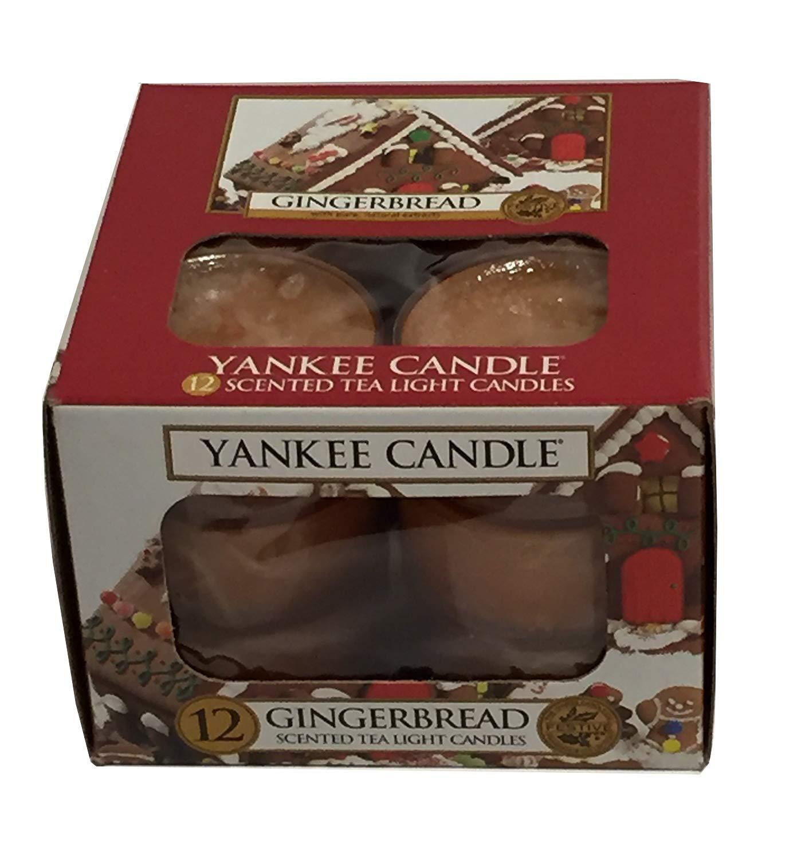 Yankee Candles Gingerbread Tea Light Candles
