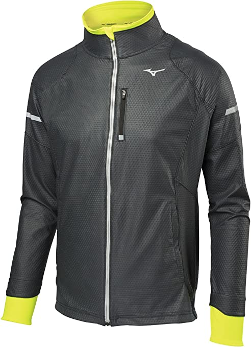 Mizuno Running Uomo Static Breath Thermo Giacca Softshell
