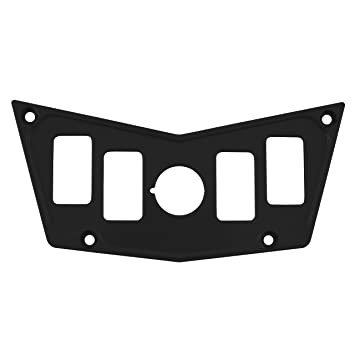 71rM%2BCGn4fL._SY355_ amazon com stv motorsports custom black aluminum dash panel for RZR XP Turbo at n-0.co