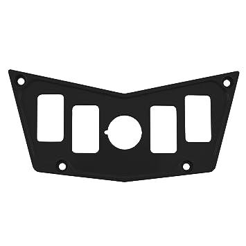 71rM%2BCGn4fL._SY355_ amazon com stv motorsports custom black aluminum dash panel for RZR XP Turbo at crackthecode.co