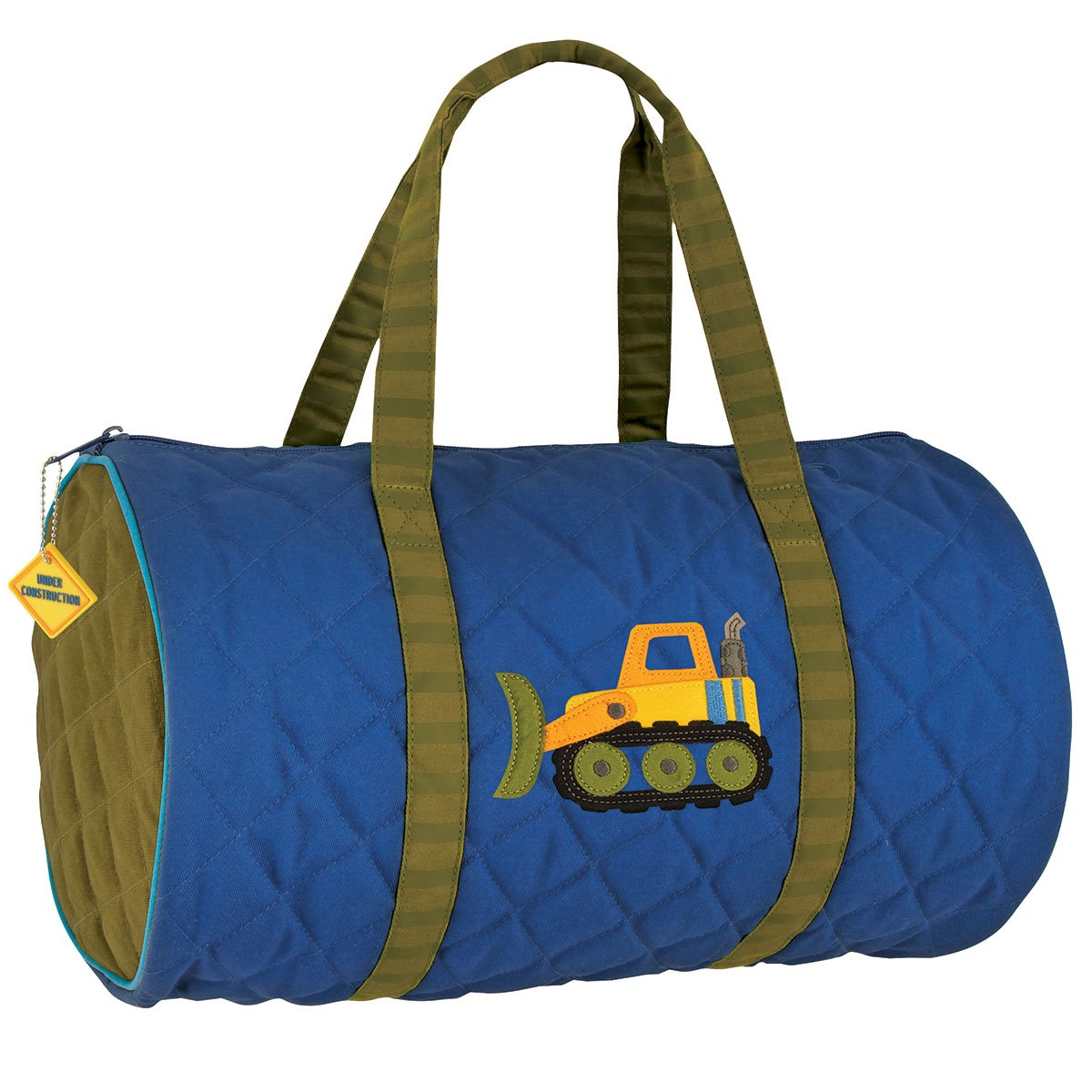 Stephen Joseph Quilted Duffle Airplane SJ830181A