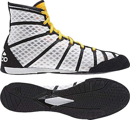 adidas - Zapatillas de Boxeo de Lona para Hombre Blanco Blanco, Color Blanco, Talla 36 EU: Amazon.es: Zapatos y complementos