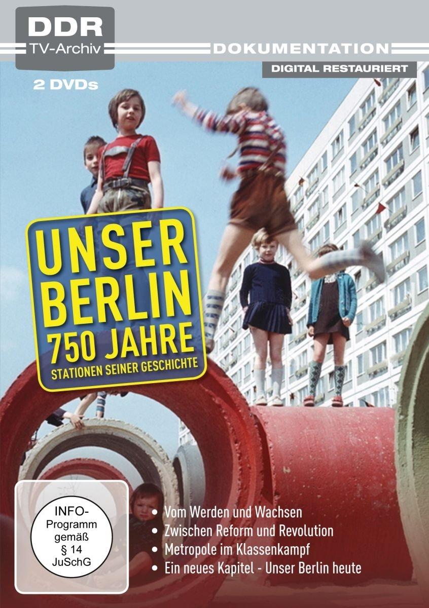 Unser Berlin - 750 Jahre (DDR TV-Archiv) [2 DVDs] [Alemania]