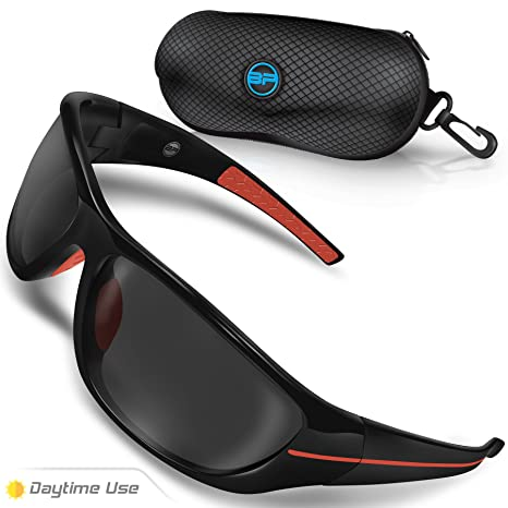 602e178c574 Amazon.com  BLUPOND Polarized Driving Sunglasses for Men Women - TAC HD  Vision for Motorcycle Riding - Chopper  Sports   Outdoors