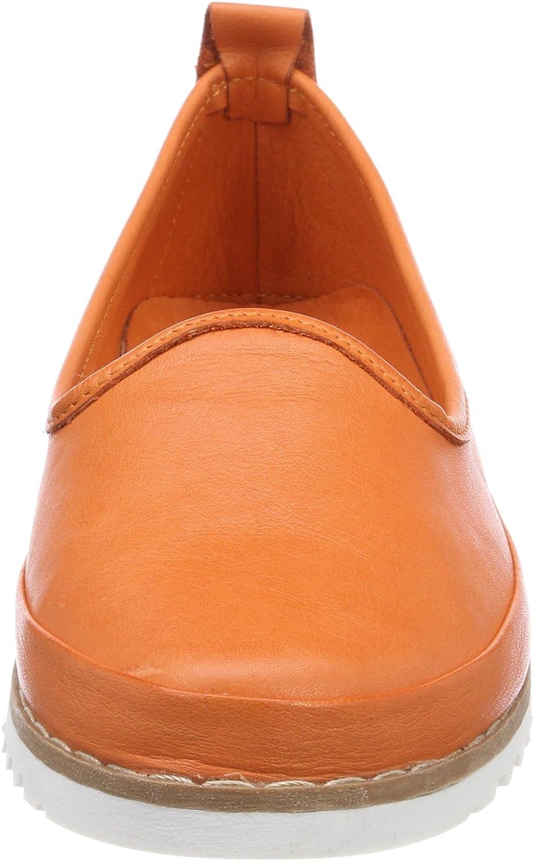 Andrea Conti 0025731 dames slippers Oranje papaya