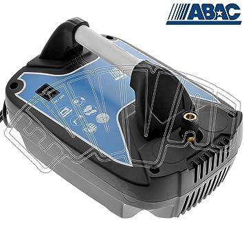 Abac - Compresor Coaxial Sin Aceite 1,5Cv 8 Bares Compy 015 Abac: Amazon.es: Deportes y aire libre