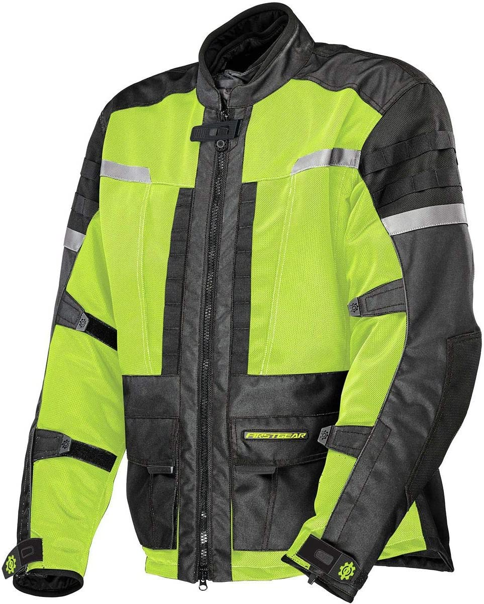 Black XXX-Large Firstgear ADV Air Mesh Jacket
