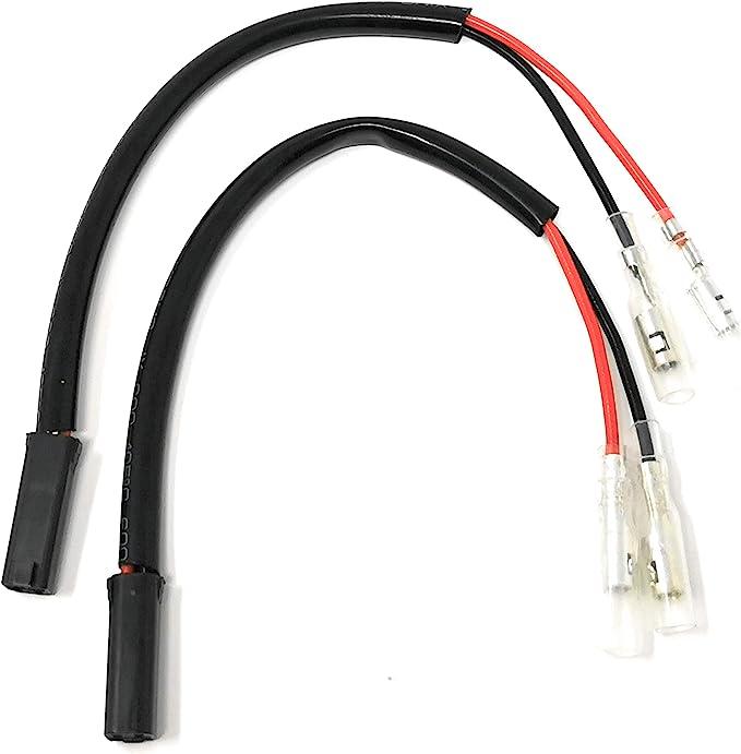 Blinker Adapterkabel Für Motorrad Mit 2 Polige Stecker Suzuki Mit 2 Polige Stecker 1201 Auto