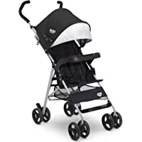 Delta Children 365 Lightweight Stroller - Extremely Lightweight Stroller - Weighs Only 12 Pound - Ideal for Travel or Everyday Use, Black