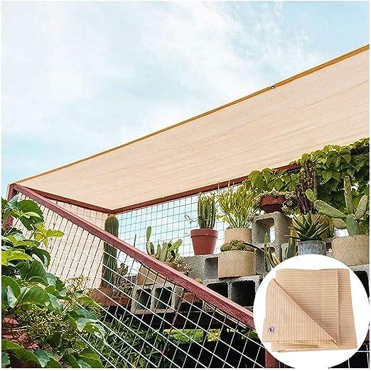 Sun Shade Sail Al Aire Libre 98% Bloque UV Resistente Jardín Patio ...