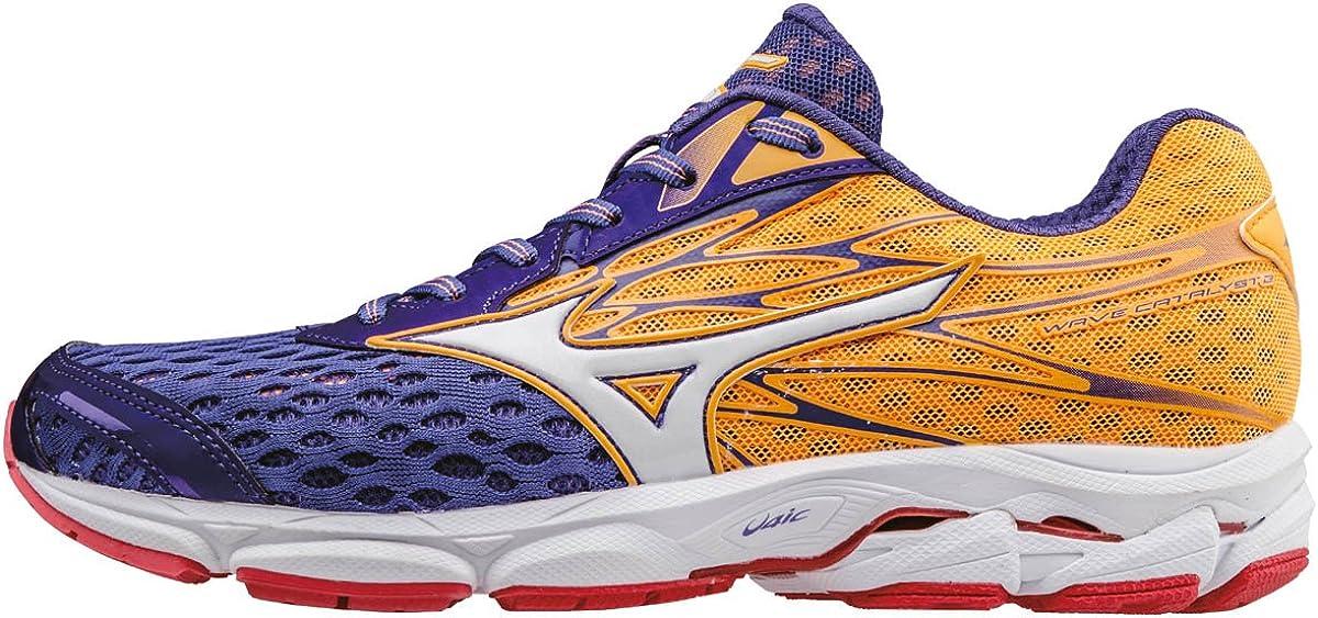 Mizuno Wave Catalyst 2 (w), Zapatillas de Running para Mujer, Morado (Liberty/White/Orange Pop), 36.5 EU: Amazon.es: Zapatos y complementos