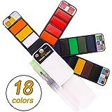 Amazon.com: Sunshilor Watercolor Paint Set - 42 Water Colors Pocket ...