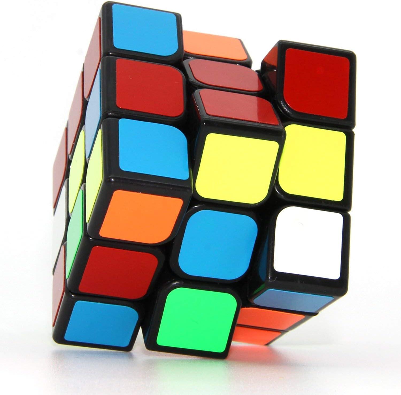 ROXENDA Moyu Aolong Profesional Cubo Mágico 3x3x3 Puzzle Cubo de la Velocidad V2 Juguetes clásicos (T1): Amazon.es: Juguetes y juegos