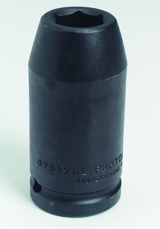 Stanley J10060ML Proto Industrial 1-Inch Drive 6 Point Deep Impact Socket 60mm