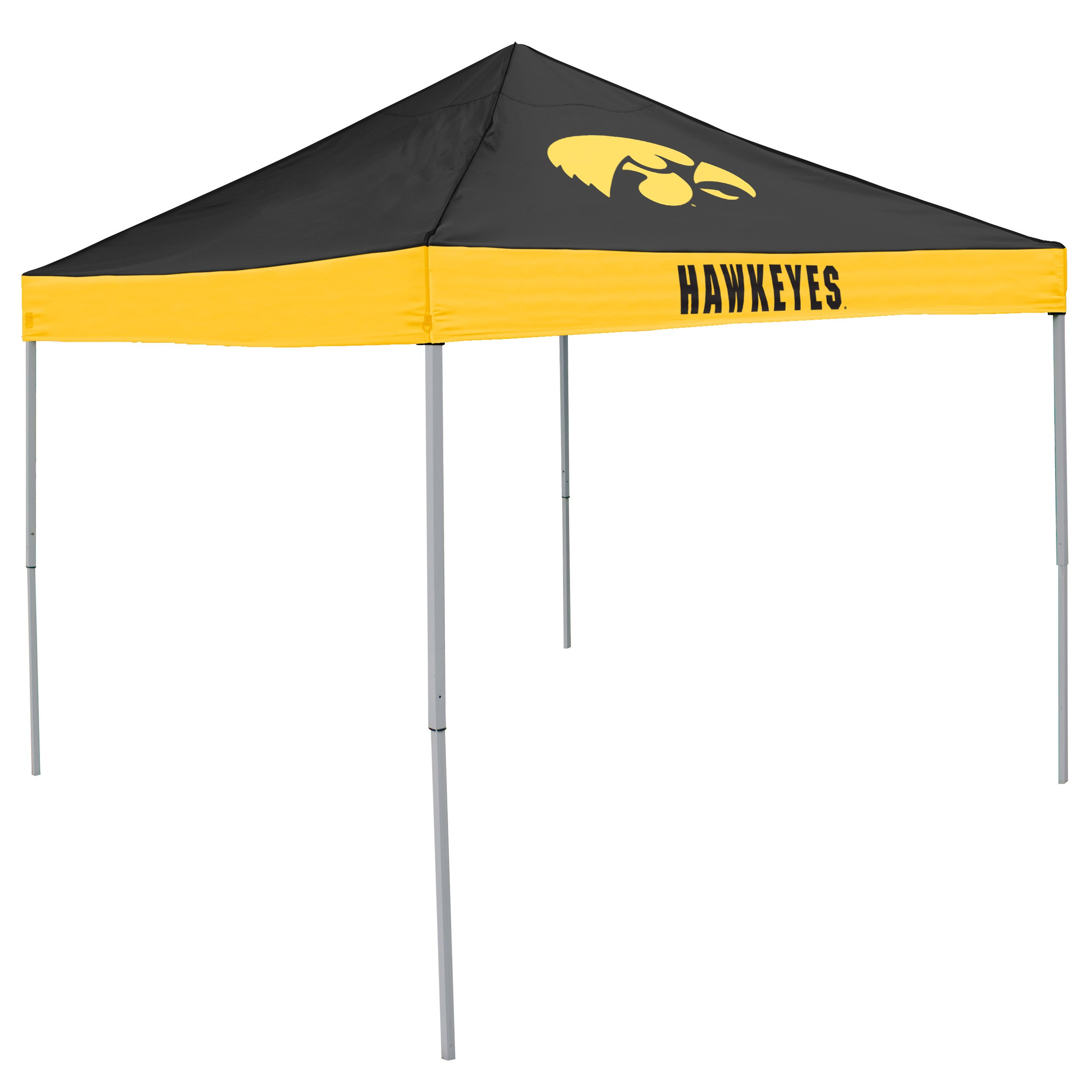 NCAA Iowa Hawkeyes Economy Tailgate Tent by Logo Brands