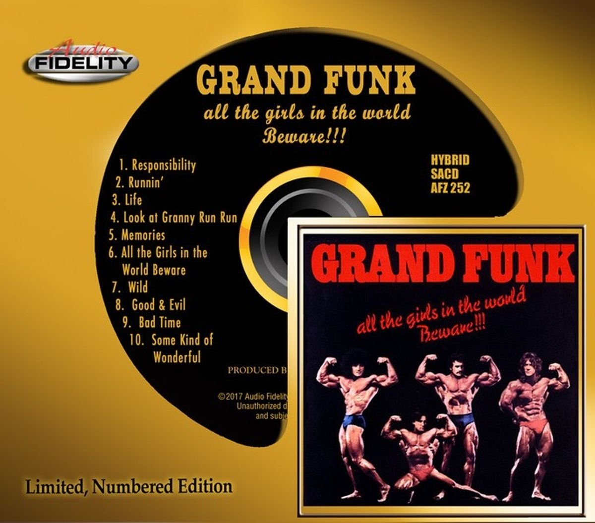 Grand Funk - All The Girls In The World Beware [Audio Fidelity Edition] (1974/2017) [CD FLAC] Download