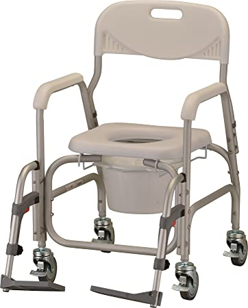 Amazon.com: NOVA Medical Products Deluxe Shower Chair/Commode ...