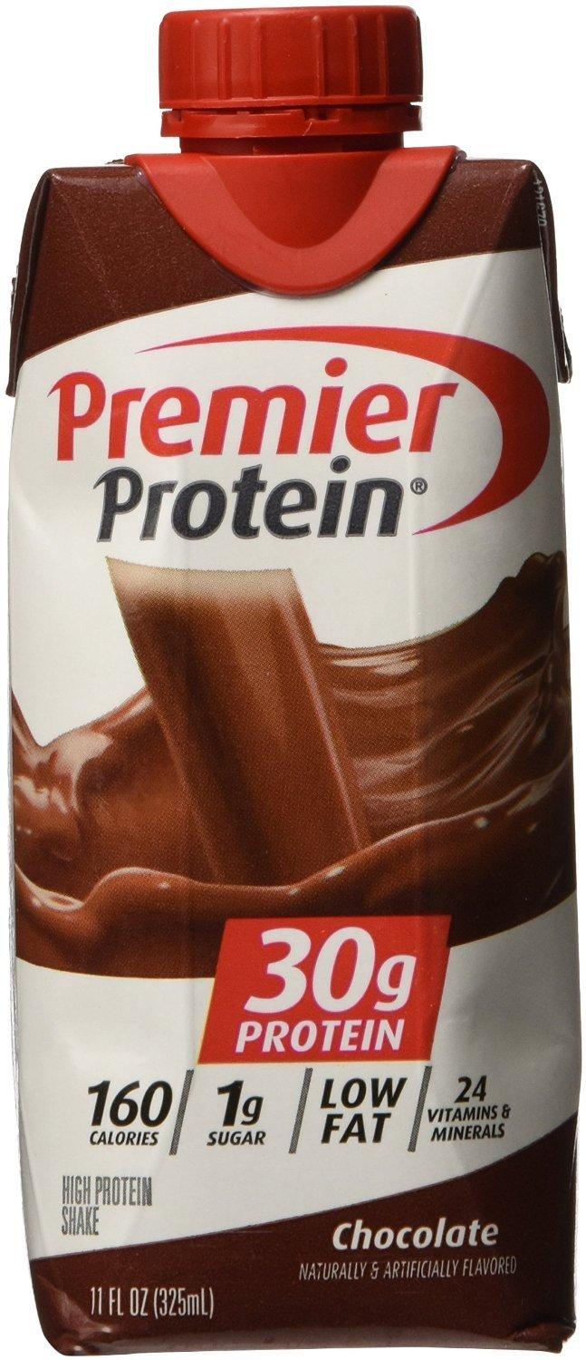 Premier Nutrition - High Protein Shake, Chocolate - 18 Count (Pack of 2)