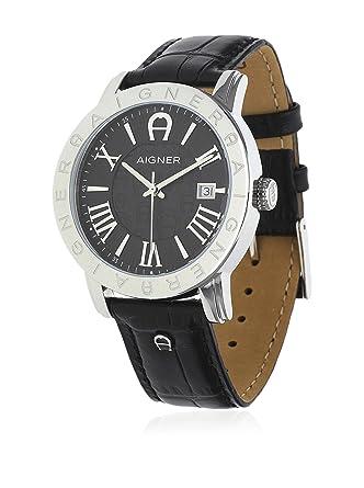 aigner men watch linate black a32168 amazon co uk watches aigner men watch linate black a32168