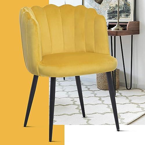 EGROREAL Accent Velvet Chair Vanity Elegant