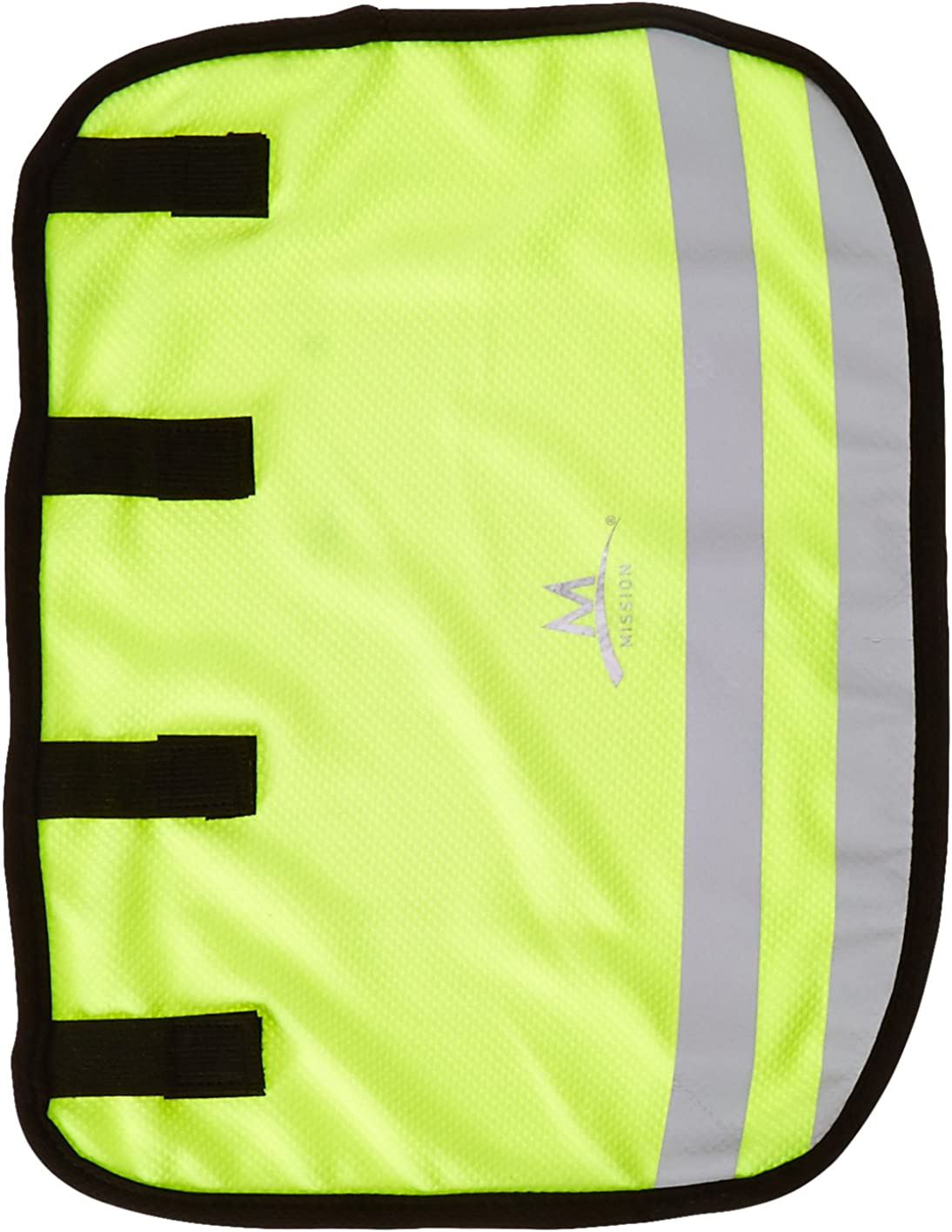 Mission Hard Hat Cooling Neck Shade, Reflective Yellow