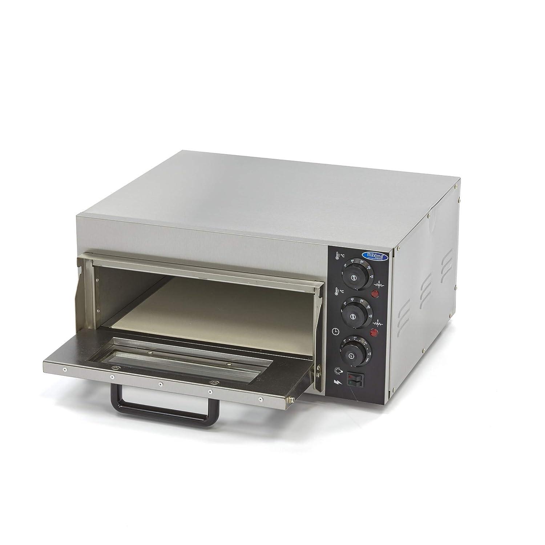 Horno de pizza compacto de 40 cm y 230 V.
