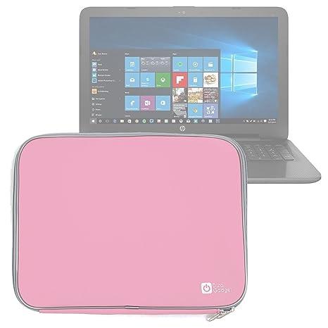 DURAGADGET Funda De Neopreno Rosa para Portátil HP 250 G4 / ProBook 455 G3 / Spectre