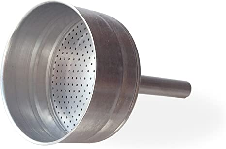 Amazon Com Cuisinox Stainless Steel Replacement Funnel Filter For The 6 Cup Milano And Roma Espresso Coffeemakers Silver Kitchen Dining