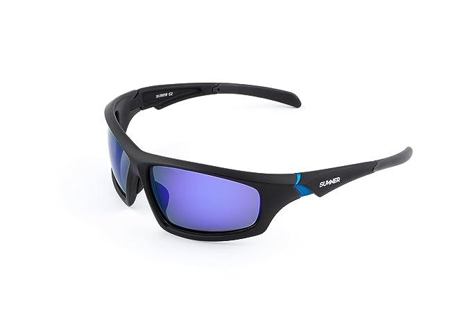 Sunner Lunettes de Soleil Sportif Polarisés SUS639 Super Léger pour hommes  et femmes Idéal Pour Skier 11ccd30b4c1e