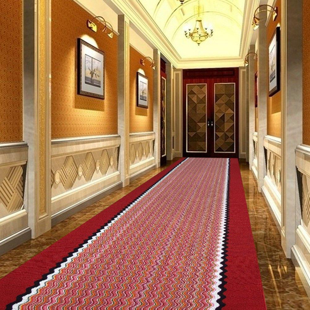 QiangDa Flur Teppich Läufer Läufer Läufer Langflor Teppiche Lang Gestreift Polypropylen Latexboden Rutschfestigkeit Waschbar Gang Dicke 7mm, Mehrere Größen Wahlweise (Farbe   1 , größe   0.78m x 6m) B07FCPFLKH Teppiche f8b236