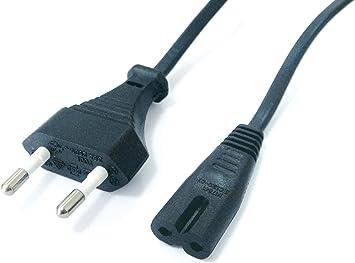 Elbe CA-160-AC - Cable de Corriente de 1.5 m, Color Negro ...