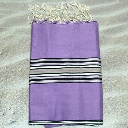 Sevilla morado – 100% algodón – toalla de baño, 100 cm x 200 cm