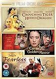 Curse Of The Golden Flower/Fearless/Crouching Tiger, Hidden... [DVD]
