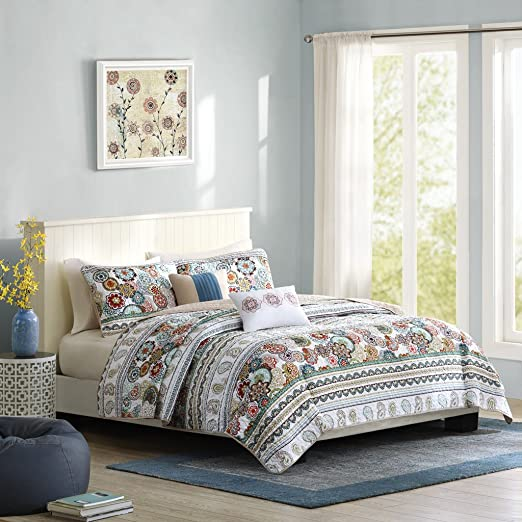 Amazon.com: Intelligent Design Tamira Full/Queen Size Quilt
