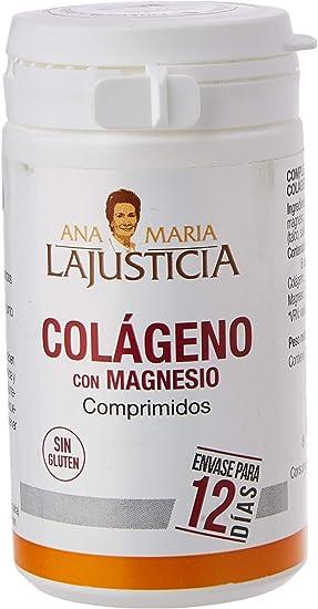 Ana Maria Lajusticia - Colágeno con magnesio – 75 comprimidos articulaciones fuertes y piel tersa. Regenerador de tejidos con colágeno hidrolizado ...