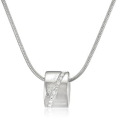 Calvin Klein Collar con colgante Mujer acero inoxidable ...