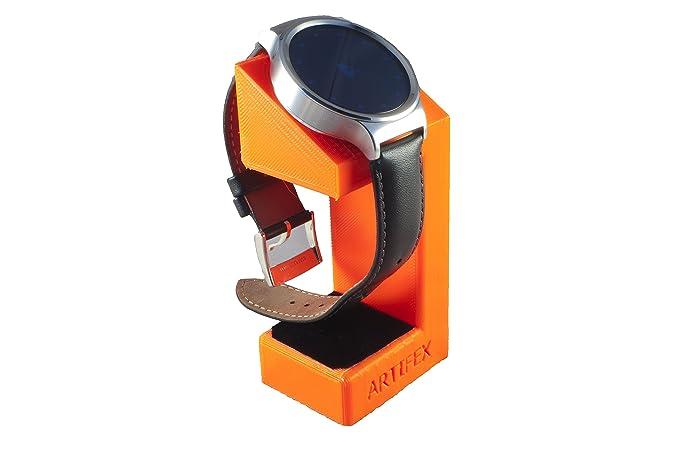 Huawei Watch, support de maintien, Artifex support de station de chargement pour montre connectée Huawei Watch, nouveau 3d Technologie imprimée, ...