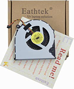 Eathtek Replacement CPU Cooling Fan for TOSHIBA Satellite C850 C855 C870 C875 L850 L870 L870D L875 L875D series, Compatible with part# DFS501105FR0T KSB06105HA MG62090V1-Q030-S99 (3 pin)