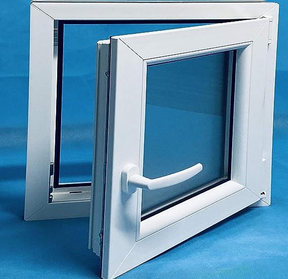 Ventana PVC 600x500 Oscilobatiente Derecha Vidrio Mate: Amazon.es: Bricolaje y herramientas
