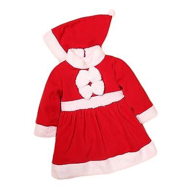 Pettigirl Bebé Chicas Santa Navidad Vestir Traje Lujoso Disfraz ...