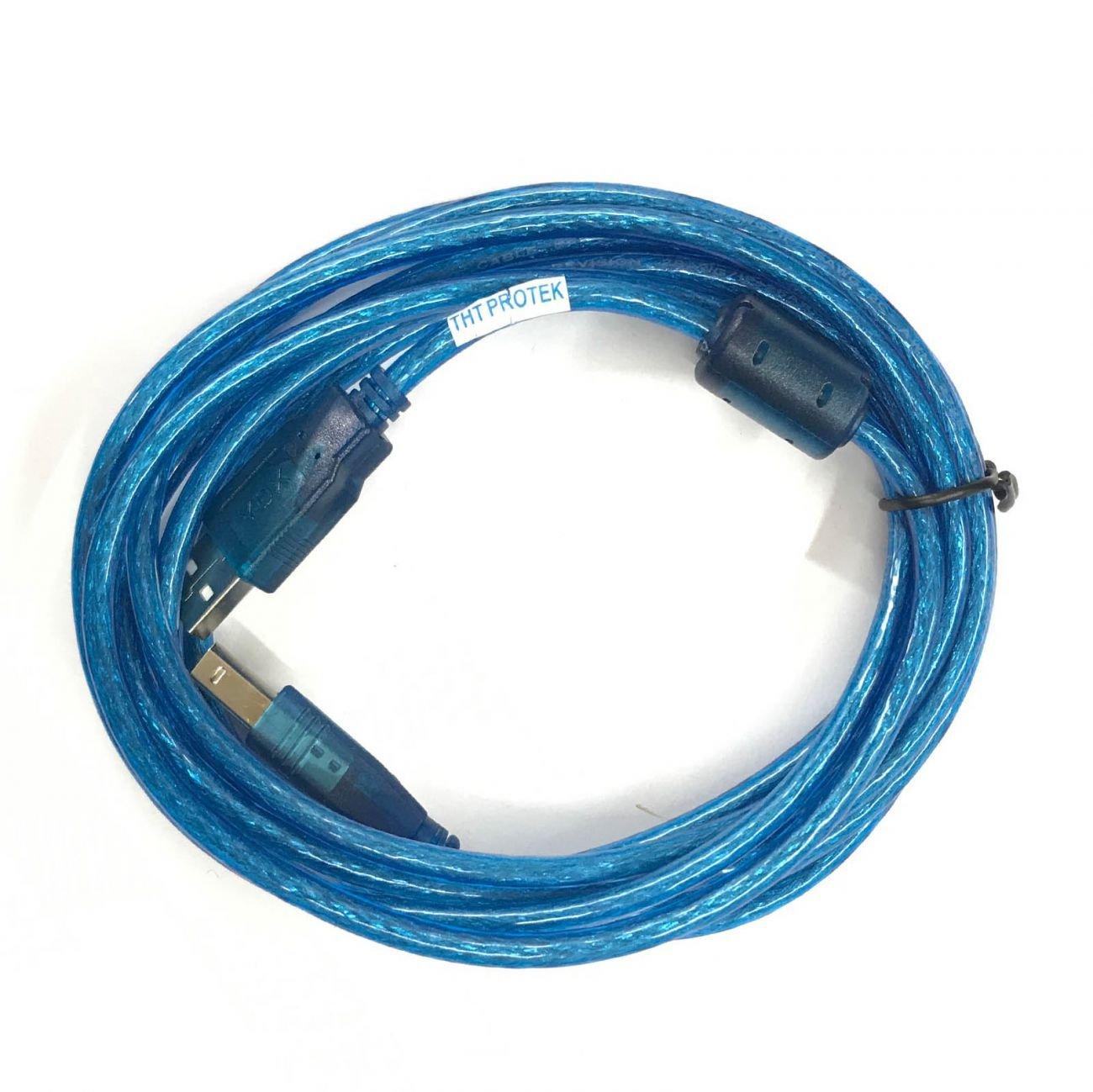 TNT-Protek Cable USB 2.0 escáner de Impresora Comp. para HP ...