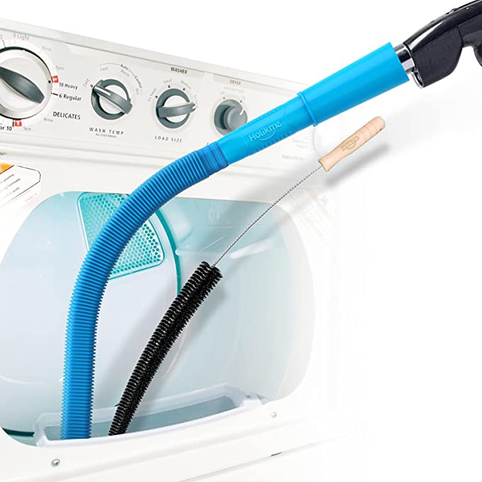 12. Holikme Clothes Dryer & Vent Trap Cleaner Brush