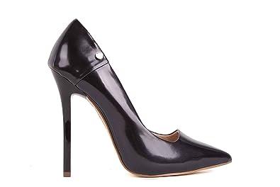 Versace Damen Pumps Highheels Stilettos Schwarz Bs19 41 Amazonde
