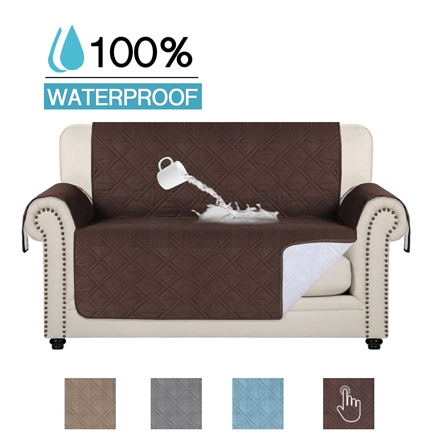 Pleasant 100 Waterproof Pets Loveseat Slipcover Deluxe Reversible Quilted Furniture Protector Love Seat Couch Covers Non Slip Backing Machine Washable Squirreltailoven Fun Painted Chair Ideas Images Squirreltailovenorg