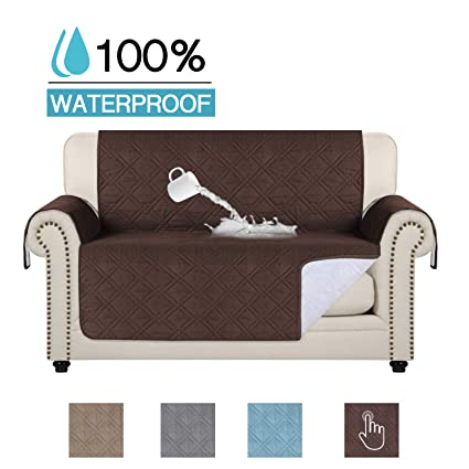 Astonishing 100 Waterproof Pets Loveseat Slipcover Deluxe Reversible Quilted Furniture Protector Love Seat Couch Covers Non Slip Backing Machine Washable Pabps2019 Chair Design Images Pabps2019Com