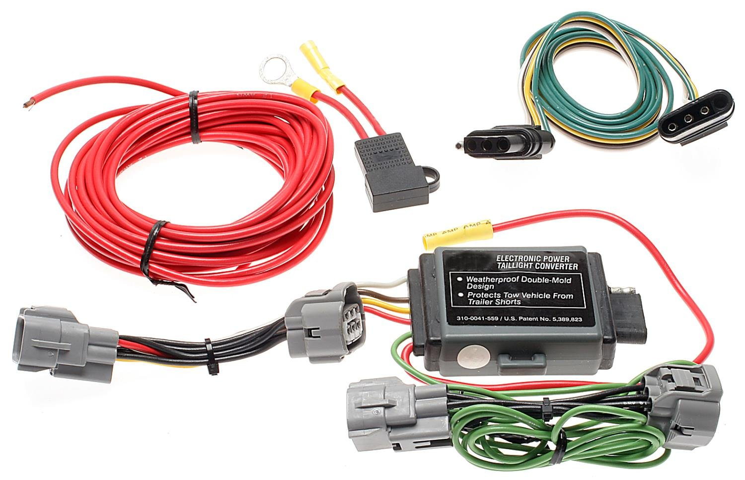 ACDelco TC204 Professional Inline to Trailer Wiring Harness Connector TC204-ACD