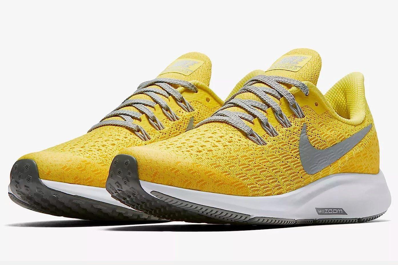Nike Air Zoom Pegasus 35 (GS), Zapatillas para Mujer, Multicolor (Dynamic Yellow/Cool Grey/Amarillo 001), 40 EU: Amazon.es: Zapatos y complementos