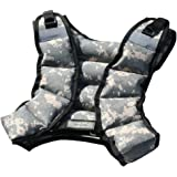 Cross101 - 12lbs Weighted Vest Camouflage Workout Weight Vest Training Fitness Unisex-new!