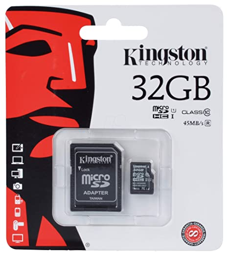 Kingston SDC10G2/32GB - Tarjeta microSD de 32 GB